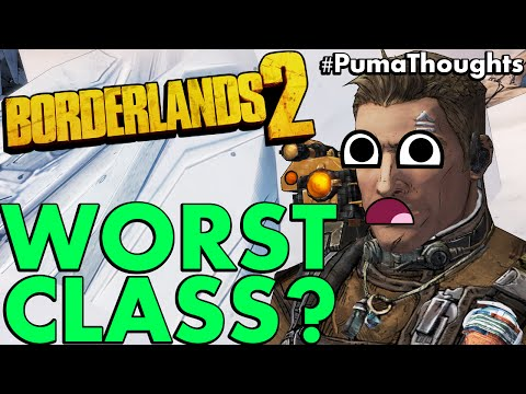 Why Axton the Commando is the Worst Character in Borderlands 2 #PumaThoughts