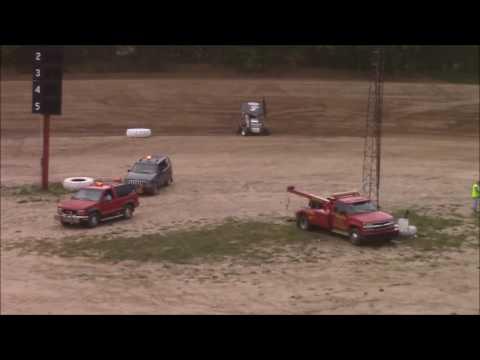 Butler Motor Speedway SOD Sprints On DIrt Sprint Heat #2 6/17/17