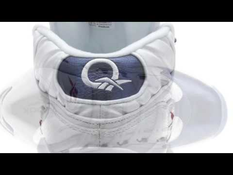 Reebok Question Mid Blue Toe (Quick First Look)