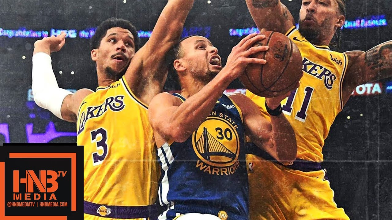 La Lakers Vs Gs Warriors Full Game Highlights 01 21 2019