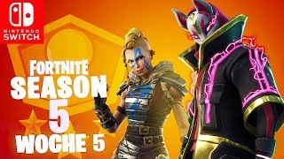 🔴 WEEK 5 Battle Pass Season 5 Challenges | Fortnite Nintendo Switch