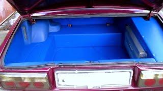 Тюнинг и полное изменение багажника ВАЗ 2107. doRABOTKA