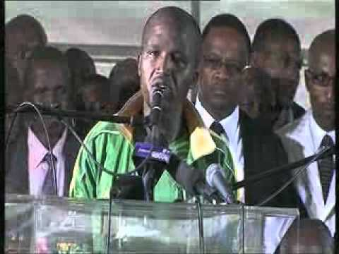The memorial service at Marikana part 2