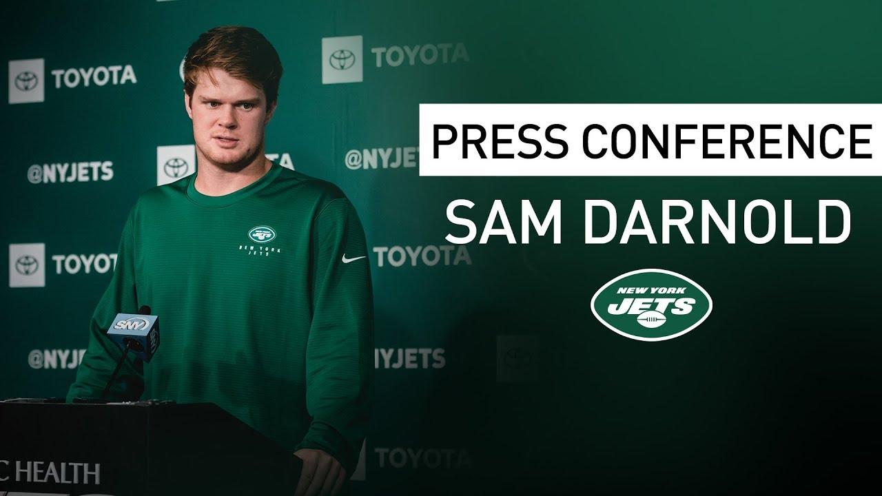 Sam Darnold Postgame Press Conference New York Jets Vs Oakland Raiders Nfl