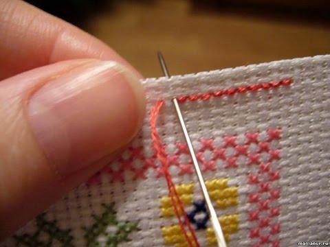 Вышивка крестом, советы по вышиванию