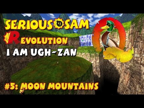 Serious Sam Classics: Revolution FE Walkthrough #5: Moon Mountains (Commentary)