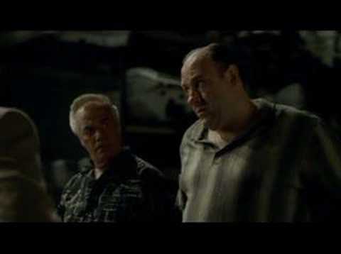 Sopranos-Paulie impresses Tony