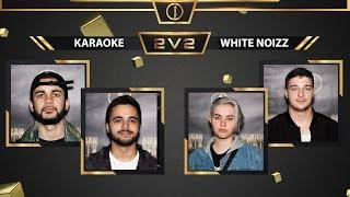 Karaoké vs White Noizz   2v2 Top 4 Battle   American Beatbox Championships 2018