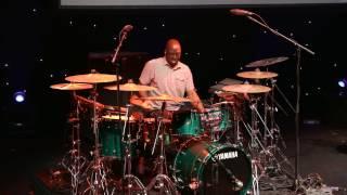 Larnell Lewis & Rashid Williams - Guitar Center's 28th Annual Drum-Off (Part 2)