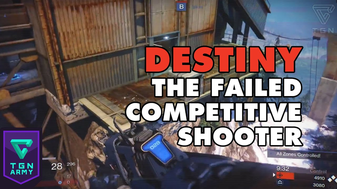Destiny : The Failed Competitive Shooter