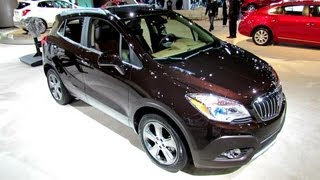 2013 Buick Encore - Exterior and Interior Walkaround - 2012 Los Angeles Auto Show