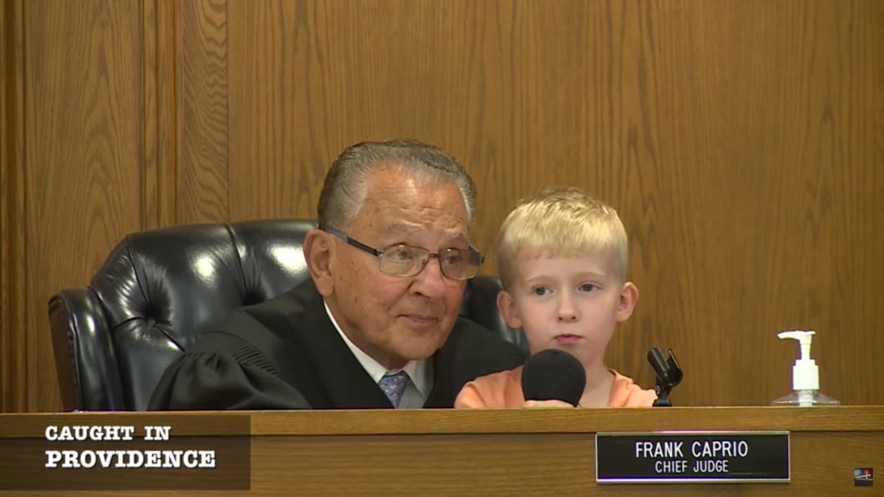 Caught in Providence: Cute Kid Wins Over the Courtroom