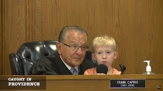 Caught in Providence: Cute Kid Wins Over the Courtroom thumbnail