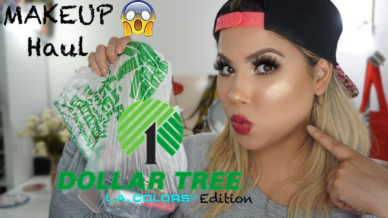 Dollar Tree Makeup Haul || LaColors Edition - YouTube