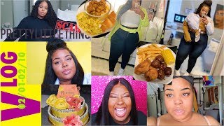 Waxing, Dinner for Bae, 10 Min Makeup, Grocery Trip | 2/2-2/10 VLOG | Daquana White