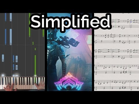 We All Lift Together - Warframe (Simplified Piano Cover & Synthesia)