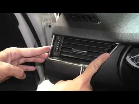 Skoda Octavia A7 - Как снять дефлектор отопителя боковой