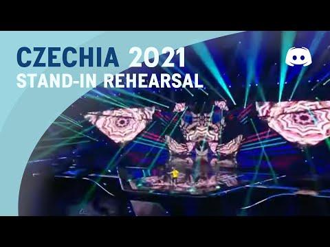 Stand-In Rehearsal - Eurovision 2021 - Czech Republic - Benny Cristo - Omaga