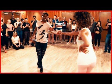 Ivete Sangalo - Cheguei Pra Te Amar ft. MC Livinho | LambaZouk Dance | Gilson Damasco & Ashley Daye