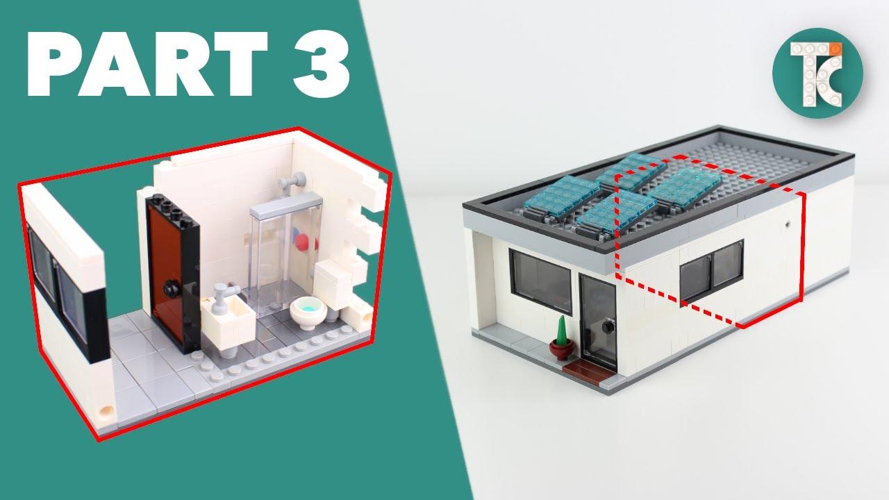 LEGO HOUSE TUTORIAL (Part 3 Bathroom)