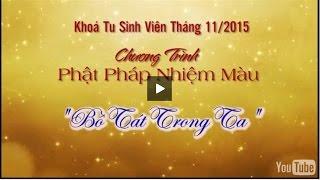 Lễ khai pháp Tụng Kinh Địa Tạng 7 ngày - Ngày 2 - tháng 12 - 2015