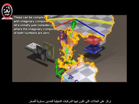 الغزل الكمي فيزيائيا ورياضيا Quantum Spin - Visualizing the physics and mathematics