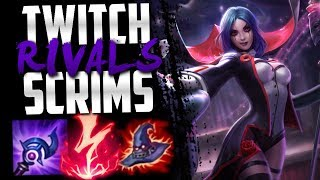Twitch Rivals Scrims vs Shiphtur's Team ft. Diamond, IKeepItTaco, Metaphor, TFBlade