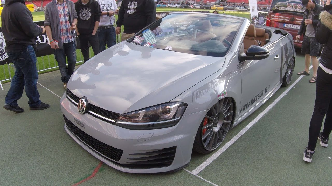 volkswagen vw golf 7 mk7 gti cabriolet walkaround. Black Bedroom Furniture Sets. Home Design Ideas