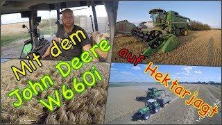 FarmVLOG#142 - Der John Deere W660i auf Hektarjagt