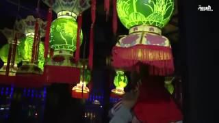 1000شخص يشاركون في مسابقة النحت على البطيخ في الصين