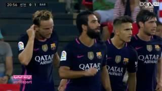 fc barcelona vs athletic bilbao 1 0 arabic commentary