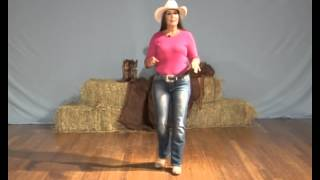 Learn how to line dance - The Electric Slide line dance instruction