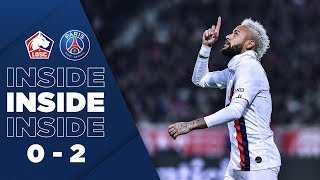 INSIDE : LILLE vs PARIS SAINT-GERMAIN (0-2)
