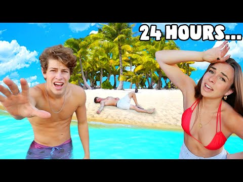 Surviving 24 Hours On A Deserted Island!