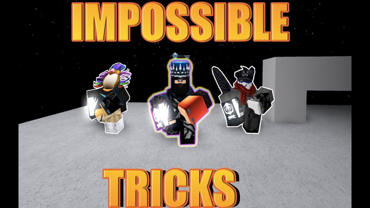 `IMPOSSIBLE TRICKS` ft  Pickle699 & LeoWeegee (Roblox Parkour)