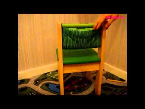 I`m Toy Детский деревянный стульчик (зеленый) от 3х лет