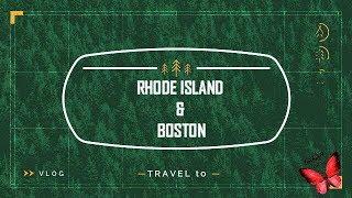 Boston & Rhode Island camping vlog