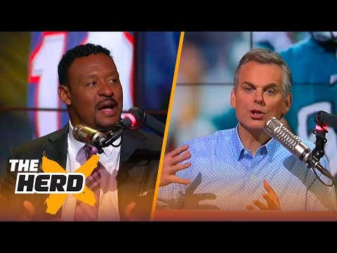 Willie McGinest on Lane Johnson saying Patriots are no fun, Jimmy G's contract with 49ers | THE HERD