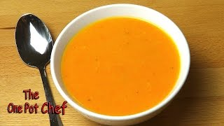 Roasted Carrot Soup - Recipe
