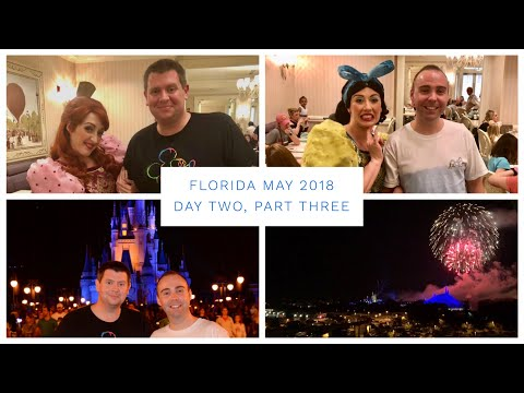 Walt Disney World & Florida Vlog - May 2018 - Day 2 - Pt 3 - 1900 Park Fare & Magic Kingdom