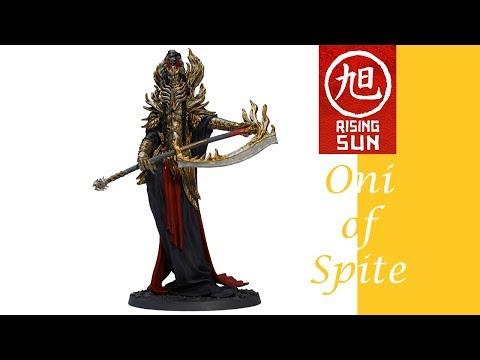 Rising Sun Painting: Oni of Spite