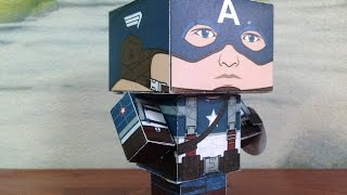 Papercraft Captain America Civil War Tutorial - CTV ORIGAMI