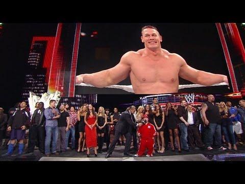 WWE Superstars and Divas sing Happy Birthday to John Cena YouTube