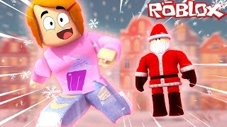 Roblox Escape Santa Obby! - Roblox Roleplay With Molly And Daisy! - Let's Play Roblox!