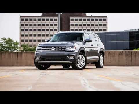 2018 Volkswagen Atlas SUV--Folding Seats and Cargo Space REVIEW