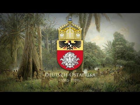"""German East Africa (1885–1919) Lied """"Heia Safari/Wie oft sind wir Geschritten"""""""