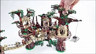 Lepin 05047 the same LEGO 10236 1990pcs Star Series War The E Set wok Village Model