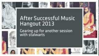 Guru Sishya Parampara Music Hangout 2014
