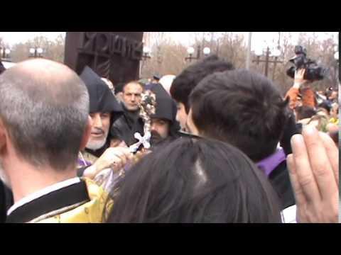 Геноцид Армян 100 лет. Москва. 24 апреля 2015г