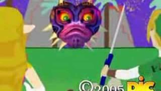 Unrelased Zelda CG karikatür